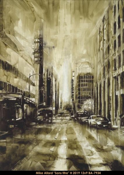Mike Allard - Realism - ville - city scene