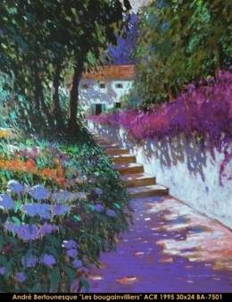 André Bertounesque - Provence - Paysage - South of France - Sud