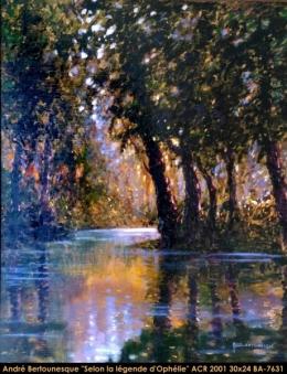 André Bertounesque - Paysage - landscape