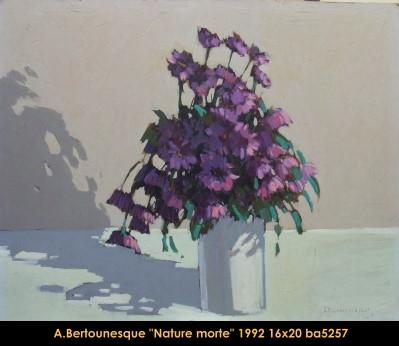 André Bertounesque - Nature Morte - Still Life