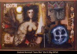 Gabriel Bonmati - portrait de femmes - portrait of women