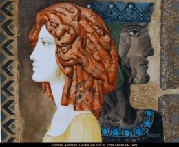 Gabriel Bonmati - portrait de femme - woman's portrait