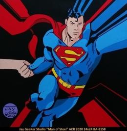 Jay GeeKer Studio - Pop Art - Superman