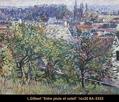 Léonard Gilbert - paysage - landscape -