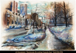 Lynda Schneider Granatstein - scene hiver - winter scene