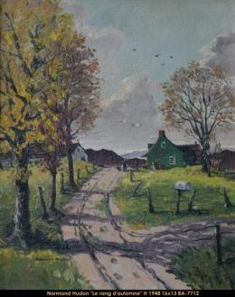 Normand Hudon - paysage - landscape