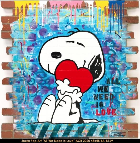 Jozza Pop Art - Snoopy
