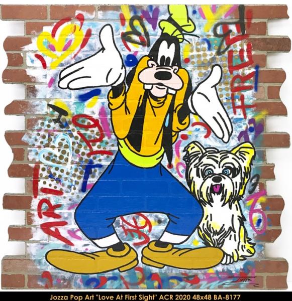 Jozza Pop Art - Goofy