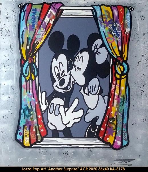 Jozza Pop Art - Mickey Mouse - Minnie