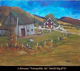 Louise Kirouac - paysage Quebec - Landscape