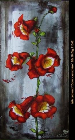 Marie-Andrée Leblond - fleurs - flowers -