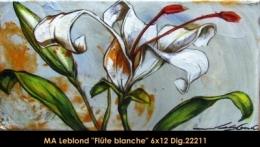 Marie-Andrée Leblond - fleurs - flowers