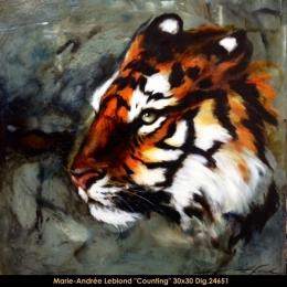 Marie-Andrée Leblond - tigre - tiger