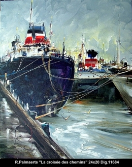 Roland Palmaerts - port