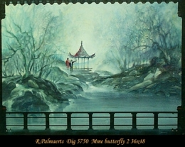 Roland Palmaerts - paysage - landscape - china - chine