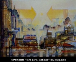Roland Palmaerts - urban landscape - paysage urbain