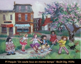 Pauline T.Paquin - enfants - children