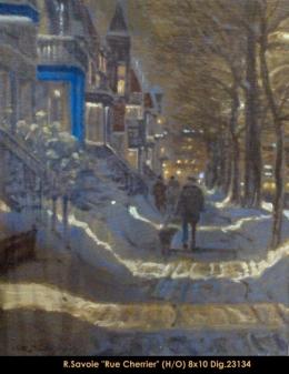 Richard Savoie - Montreal - Hiver - Winter - Rue Cherrier