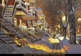 Richard Savoie - Rosemont - Hiver - Winter