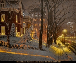 Richard Savoie - Quebec - hiver - winter