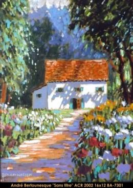 André Bertounesque - Provence - Paysage - South of France - Sud de la France -