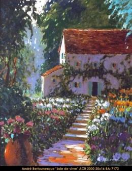 André Bertounesque - Provence - Paysage - South of France - Sud de la France - Landscape acrylique | acrylic