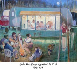 John Der - Personnage - Character - Humour - Humor --camping