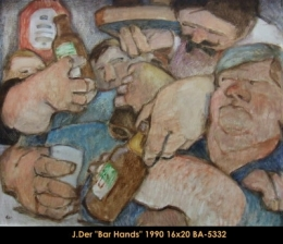 John Der - Personnage - Character - Humour - Humor -beer