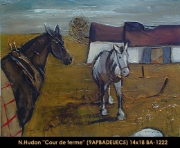 Normand Hudon - chevaux - horses