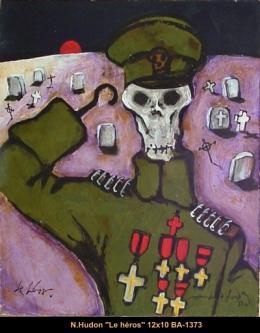 Normand Hudon - soldat - soldier