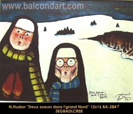 Normand Hudon - religieuses - nuns