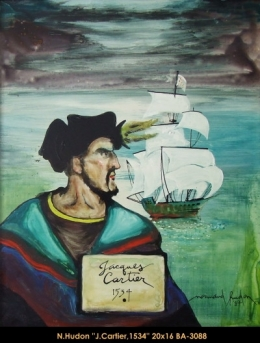 Normand Hudon - jacques cartier - grands voiliers - tall ships