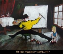 Normand Hudon - artiste - artist