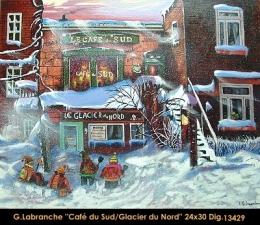 Gilles Labranche - scene de ville - city scene