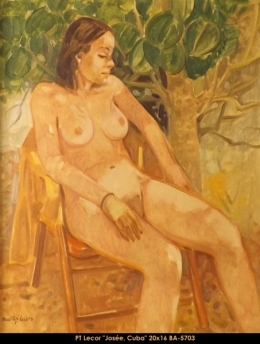 Paul Tex Lecor - nu - nude