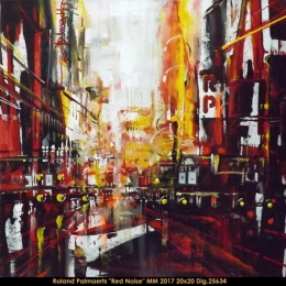 Roland Palmaerts - cityscape - scene de ville