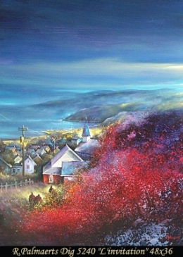 Roland Palmaerts - paysage - landscape