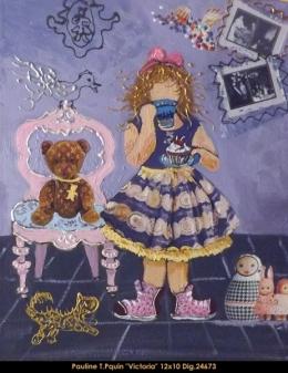 Pauline T.Paquin - enfants - children