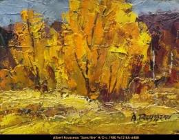 Albert Rousseau - paysage - Landscape