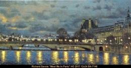 Richard Savoie - scene de paris - Paris scene