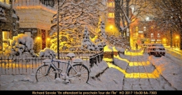 Richard Savoie - Montreal - Hiver - Winter - bicycle - velo