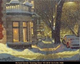Richard Savoie - Scene hiver - winter scene - Montreal