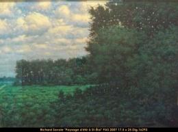 Richard Savoie - Paysage - Landscape - pastel