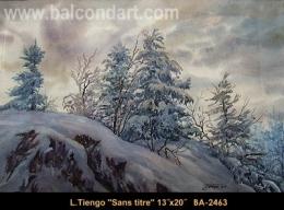 Luigi Tiengo - paysage - landscape -